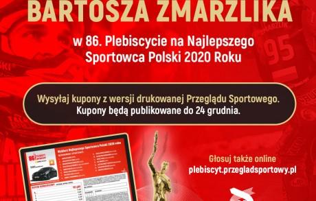 Bartosz Zmarzlik nominowany w 86. Plebiscycie na Najlepszego Sportowca Polski