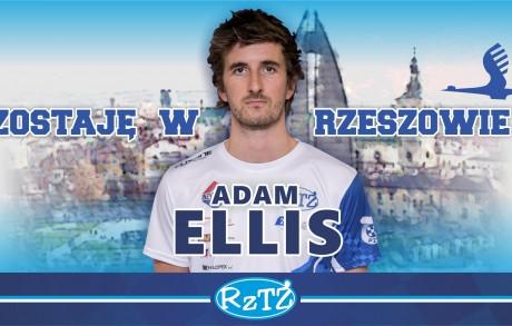 Adam Ellis zostaje z nami!