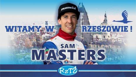 Sam Masters nowym rzeszowianinem!