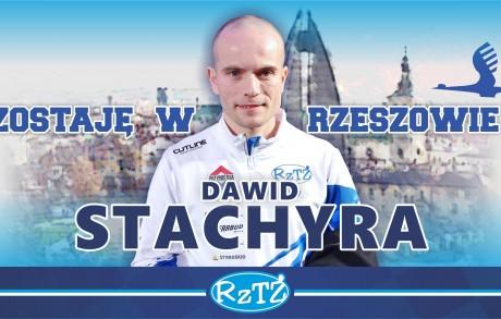 Dawid Stachyra zostaje w Rzeszowie!